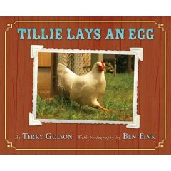"book cover for ""Tillie Lays an Egg"""