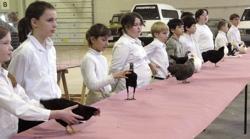 poultry show junior exhibitors