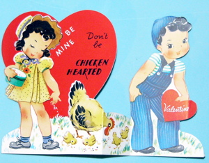 chicken valentine