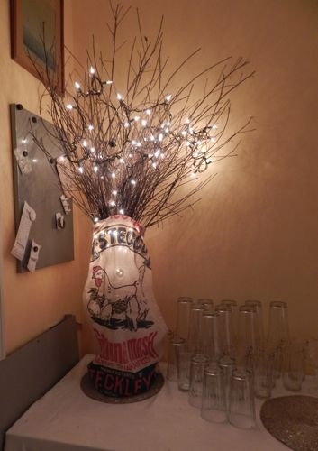 twigs with lights in a vase vase and cellar image avorcor com